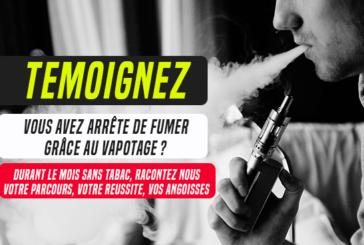 MES SIN TABACO: de fumadores a vapers ... ¡Sus testimonios!