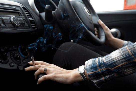 TUTORIAL: Clean a car that has been invaded by tobacco.
