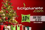 BUEN PLAN: 10% descuento especial para Navidad en todo el sitio Ecigplanete.com!