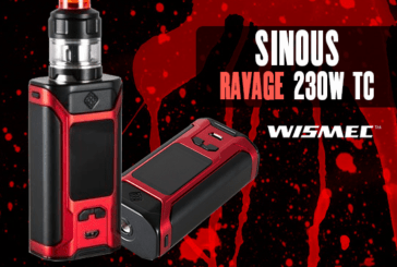 INFO BATCH : Sinuous Ravage 230w TC (Wismec)