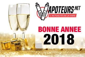 2018 : Nos voeux et nos résolutions pour cette nouvelle année !