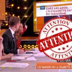 SOCIETE : Quand la chaîne C8 et Julien Courbet dénoncent l'e-cigarette à la TV.