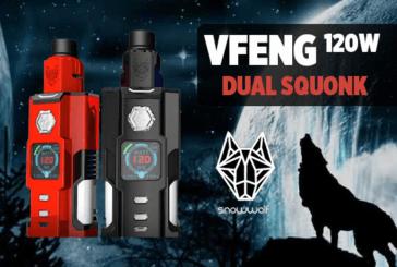 INFO BATCH : Vfeng 120W Dual Squonk (Snowwolf)
