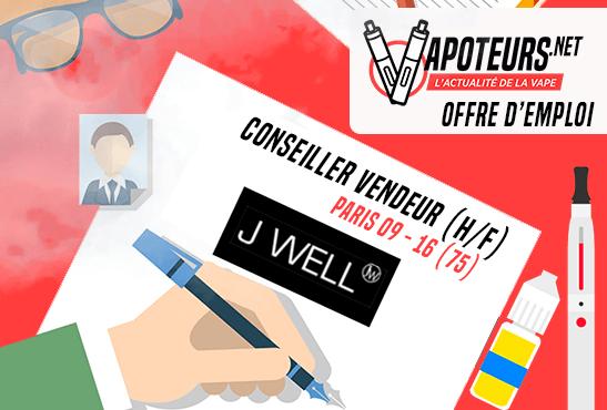 JOB OFFER: Sales Consultant (M / F) - JWELL - Paris 09 / Paris 16