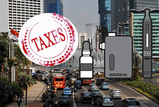 INDONESIA: un aumento delle tasse 57% sulla sigaretta elettronica.