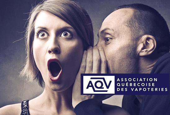 CANADA : L'AQV dénonce des visites surprenantes dans les boutiques de vape