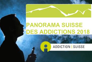 SUISSE : L'e-cigarette dans le panorama des addictions 2018