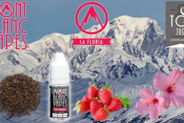 REVUE : La Floria par Mont Blanc Vapes