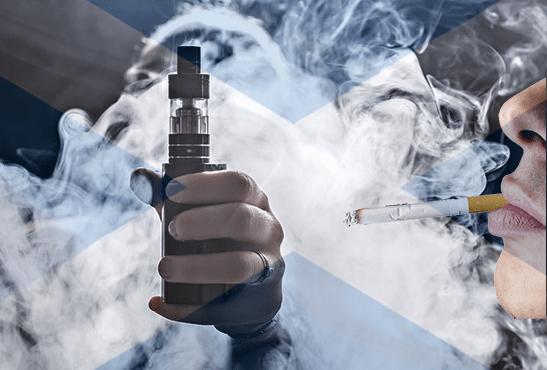 ECOSSE : Moins de 5% de fumeur en 2034 ? Un objectif difficile à atteindre sans l'e-cigarette !