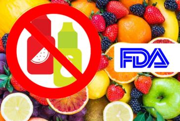 """EE.UU .: La FDA podría prohibir los aromas """"afrutados"""" para los cigarrillos electrónicos"""