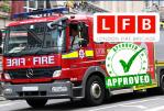 VERENIGD KONINKRIJK: Londense brandweerlieden ondersteunen vapen!