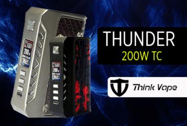 מידע נוסף: Thunder 200W TC (Thinkvape)