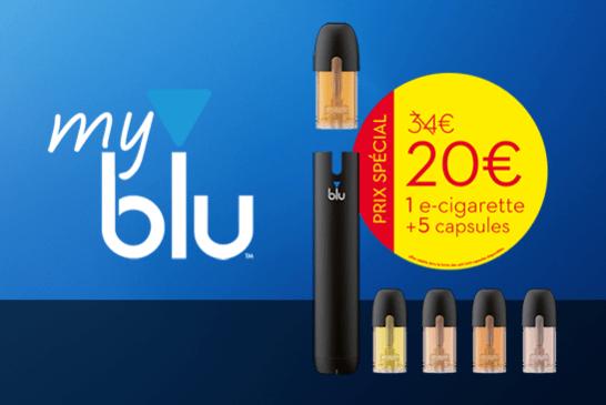 NEU: Entdecken Sie das myblu E-Zigaretten-Set mit einem speziellen Einführungsangebot!