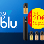 NEW: Discover the myblu e-cigarette kit with a special introductory offer!