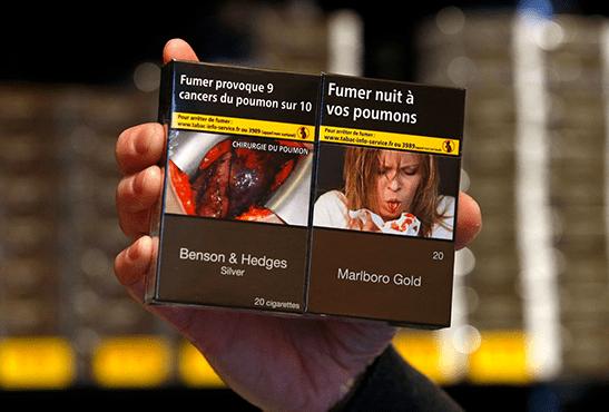 FRANCE : La hausse des prix du tabac fait chuter les ventes !