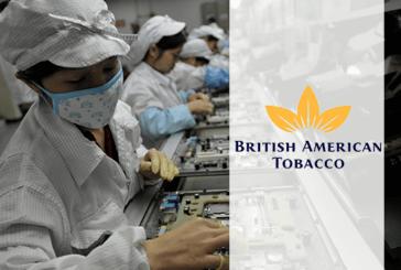 ECONOMIE : British American Tobacco fait des investissements en Chine.