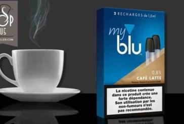 REVUE / TEST : Café Latte (Gamme myblu) par blu
