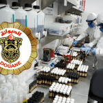 TUNISIA: Customs is making a big seizure of e-liquids and e-cigarettes in a laboratory.