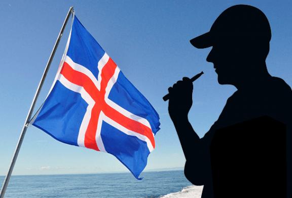 ISLANDE : Une chute des taux de tabagisme grâce à l'e-cigarette !