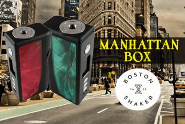 BATCH INFO:Manhattan Box(波士顿Vape Shaker / 3D制作艺术)
