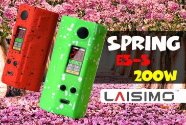 INFO BATCH : Spring E3-3 200W (Laisimo)