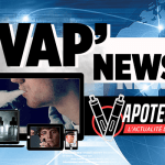 VAP'NEWS: The e-cigarette news of Friday 9 November 2018.