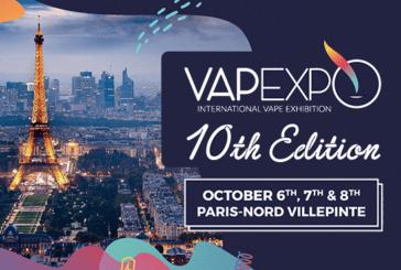 КУЛЬТУРА: Vapexpo Paris-Nord Villepinte открывает свою кассу для публики и профессионалов!