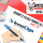 OFFRE D'EMPLOI : Gérant/e Filiale France (H/F) – Innocigs – Paris (75)
