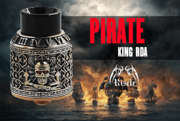 INFO BATCH  : Pirate King RDA 24mm (Riscle Technology)