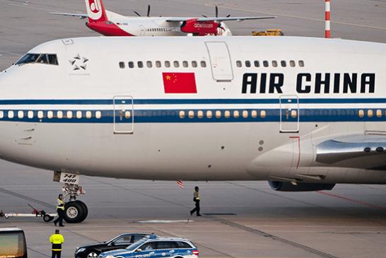 CHINE : Le copilote à l'e-cigarette d'Air China interdit de vol à vie !
