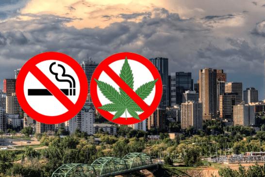 CANADA : La ville d'Edmonton renforce sa réglementation anti-tabac.