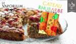 REVUE / TEST: torta al rabarbaro di Le Vaporium