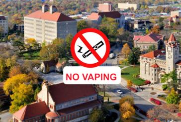 ETATS-UNIS : L'Université du Kansas interdit l'utilisation de l'e-cigarette sur le campus !