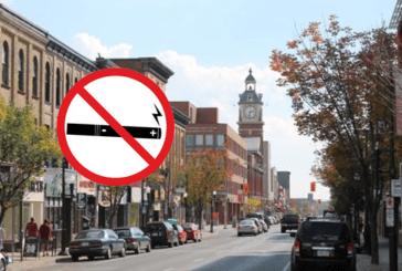 CANADA : La ville de Peterborough inclut l'interdiction de l'e-cigarette dans les lieux publics.