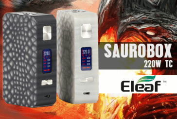 INFO BATCH : Saurobox 220W TC (Eleaf)