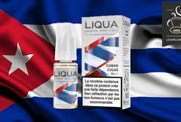 REVUE / TEST : Cuban Cigar (Gamme Elements) par Liqua
