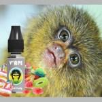 REVUE / TEST : Ouisti Fruity (gamme Grey) par V'APE