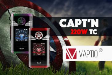 INFORMAZIONI SUL PACCHETTO: Capt'n 220W TC (Vaptio)