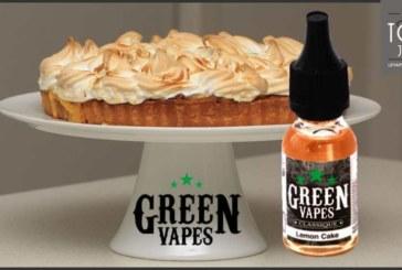 REVUE / TEST : Lemon Cake (Gamme Classique) par Green Liquides