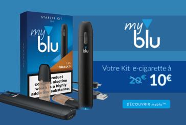 PROMOTION -50% : La myblu pour 10 euros avec le code «ALLEZLESBLU»