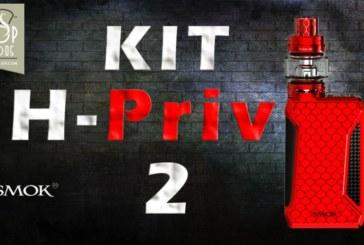 REVUE / TEST : H-PRIV 2 par SMOK