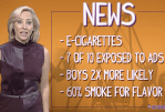 "USA: Kidcast, a program that informs parents of the ""dangers"" of the e-cigarette"