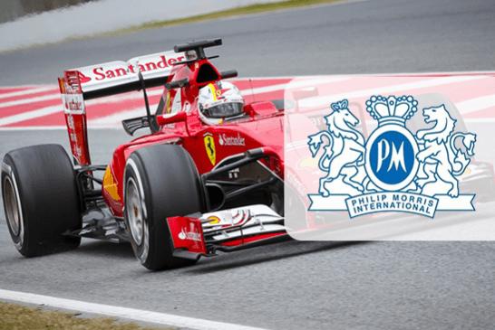 JAPON : Philip Morris impose un peu plus sa présence sur la formule 1 de Ferrari.