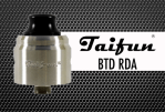 BATCH INFO: Taifun BTD RDA (SmokerStore)