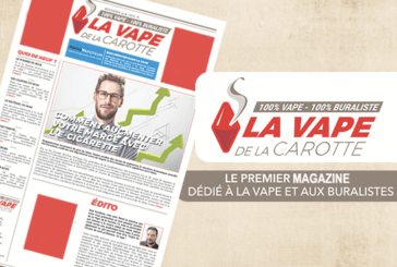 Появляется Vape of the Carrot, первый журнал 100% vape, 100% tobacconist!