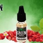 REVUE / TEST : Fraise des Bois (Gamme Classique) par Green Liquides
