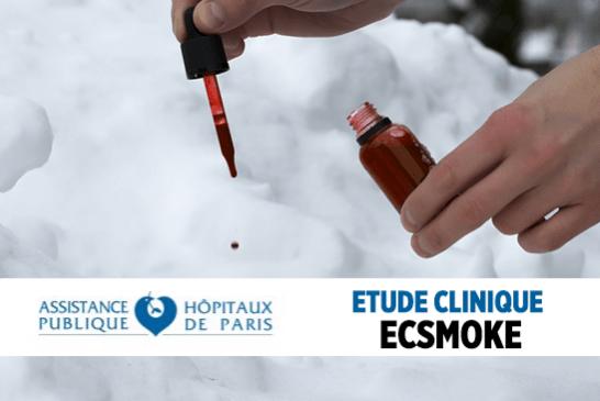 SCIENCE : L'étude clinique ECSMOKE sur l'e-cigarette recherche encore des volontaires.
