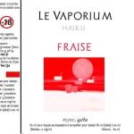 REVUE / TEST : Fraise (Gamme Haiku) par Le Vaporium