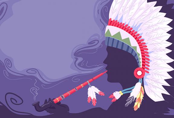 תרבות: יש 1200 שנים, אינדיאנים כבר עישנו טבק!