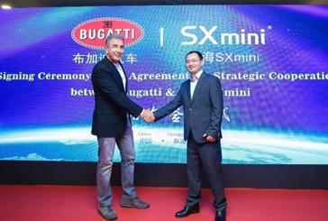 ECONOMY: The e-cigarette manufacturer SX Mini signs a prestigious partnership with Bugatti!